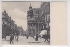 AK Wien I, Stephansplatz, Baugerüst am Stephansdom 1910