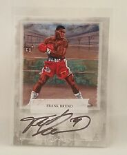 Frank Bruno 2010 Ringside Boxing Card 2 Authentic Autograph Sport Kings Silver