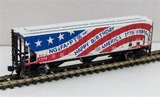 Trainworx 34457-01 PS2CD 4427 3-bay Covered Hopper PTLX Bicentenial # 1776