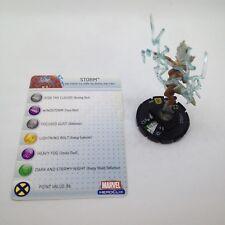 Heroclix Giant Size X-Men set Storm #048 Super Rare figure w/card!