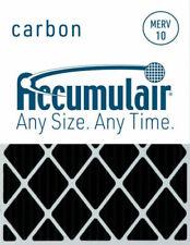 2 Pack MERV 8 Air Filter//Furnace Filter Accumulair Gold 12x25x1 11.5x24.5