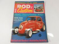 Vintage Original October 1964 Rod & Custom Magazine Custom Car Mods