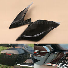 Vivid Black Stretched Extended Side Cover Panel for 2014+ Harley Touring Glide