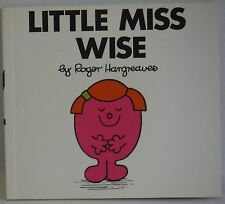 Little Miss Wise Roger Hargreaves paperback 2003 VGC children's story to read