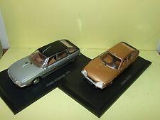 CITROEN CX 1975 & 1978 LOT DE 2 UNIVERSAL HOBBIES sur socle 1:43 défautdefault