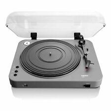 More details for lenco l-85 usb vinyl record player turntable - black