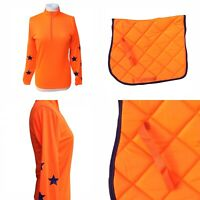 Cross Country Colours Equestrian Neon Orange