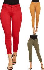 Jeans da donna slim , skinny alti