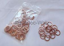50 STÜCK Kupferringe Dichtringe Dichtungen Cu 14x18x1,5 mm DIN 7603 Form A