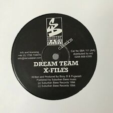 "The Dream Team - Raw Dogs Relik / X Files 12"" Jungle Vinyl Suburban Base 1996"