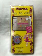 New in Box Fairies Room Accents Wall Décor Children's Display Removable 25+