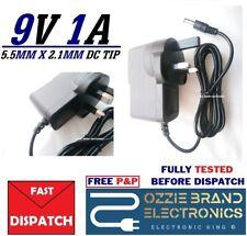 UK 9V AC/DC Power Supply Compatible For Reebok Jet 100 Electronic Exercise Bike