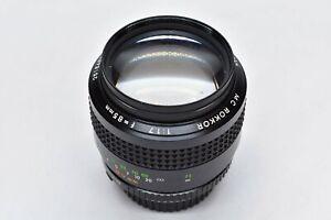 [EXC+++] Minolta MC ROKKOR-PF 85mm f/1.7 Portrait Lens form JAPAN #2045