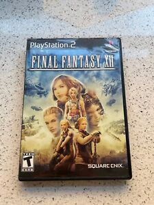 Sony Playstation 2 Final Fantasy XII 12 NTSC Complete Good Condition