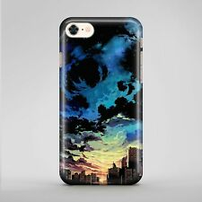 Blue Cloud Background New York City Phone Case Cover