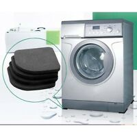4X Washing Machine Shockproof Pads Anti Vibration Feet Tailorable Adjustment#