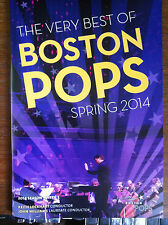 Billy Porter Boston Pops May 20th + 21st   program Kinky Boots in concert 2014