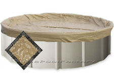 33' Round Ultimate Guard Winter Pool Cover - Extra Heavy Duty 20 Year Warranty!
