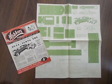HOBBIES WEEKLY MAGAZINE MARCH 3rd 1952 FREE DESIGN PULL ALONG LORRY AND TRAILER