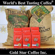World's Best Tasting DARK ROAST Coffee - 6 lb Hawaii Hawaiian Kona French Roast