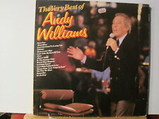 Andy Williams - The Very Best Of..Vinyl Lp-Free UK Post