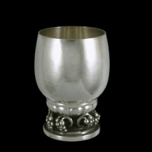 Georg Jensen. Sterling Silver Grape Cup #296D.