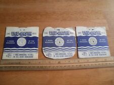 The Adventures of Sam Sawyer lot of 3 Sam-1 2 3 View-master Reels 1950 Moon Gian