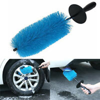 Car Washing Tools Car Tire Brush Car Rim Cleaning Brush Car Wheel Brush Blue MEU