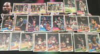 Topps Basketball 1979 Base Card Lot Elvin Hayes Gilmore Theus Dantley