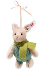 "Steiff PIGLET ORNAMENT 3.5"" Mohair Ltd Edition from Winnie the Pooh 683152 NEW!"