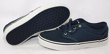 Boys Youth Kids Vans Atwood Ballistic Navy Blue Nylon retro style Sneakers Shoes
