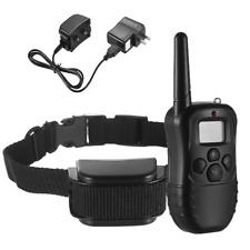 100 Level Remote Vibration & Shock Large Dog Training Bark Collars for Dogs
