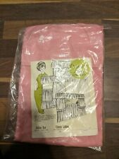 Vintage 1950's Curtains Julian Noa Sheer Pink