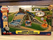 RARE SET Thomas & Friends Wooden Railway Lumber Yard Waterfall Adventure