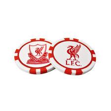 Liverpool FC 2 POKER CIRCUITO Palla da golf Marcatori in Set regalo