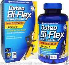NEW OSTEO BI-FLEX JOINT HEALTH TRIPLE STRENGHT VITAMIN D JOINT SHIELD DAILY CARE