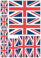Union Jack Bandiera LAMINATO ADESIVO SET GB BRETAGNA BRITISH decalcomanie