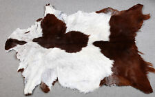 GOAT Western taxidermy Hide Rug Natural Pattern Fur Goat Hide Rode SA-5172
