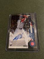 2020 Topps Chrome Robel Garcia Rookie On Card Autograph Chicago Cubs