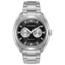 Citizen Eco-Drive Men's Paradex Black Multi Dial 44mm Wrist Watch BU4010-56E