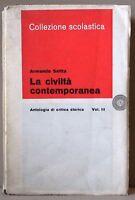 La civiltà contemporanea - Saitta - antologia di critica storica III - laterza