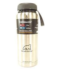 Polar Bottles Thermaluxe Water Bottle w/ Standard Cap 21 oz Stainless