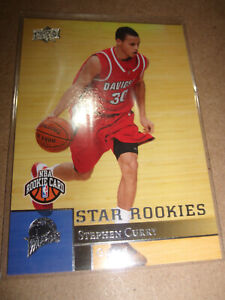 2009 Upper Deck Stephen Curry #234 Star Rookies Basketball Card Rookie RC
