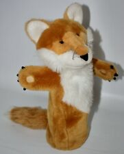 The Puppet Company Fox Puppet Brown Ginger Long Sleeve Soft Fluffy Toy