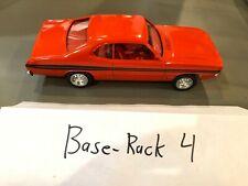 Dealer Promo Model - 1971 DODGE DEMON 340 ORANGE MEMORY LANE WHEATS HIGH GRADE