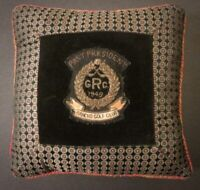 "RANCHO PARK GOLF CLUB ""PAST PRESIDENT 1949"" PILLOW ~ Los Angeles ~ Very Early"