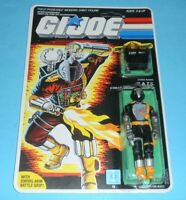 *RECARDED* 1986 GI Joe BATS v1 Figure Complete Sealed *CUSTOM File Card Back*