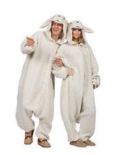ADULT OLLIE THE SHEEP BA BA LAMB GOAT FARM ZOO ANIMAL PAJAMAS COSTUME JUMPSUIT