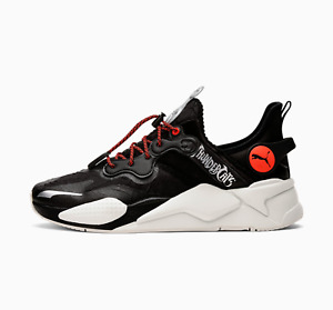 Puma x THUNDERCATS RS-X T3CH Cat's Lair 80340_01 Black Red  Silver Cats RSX Size