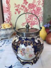 Blue Victorian Pottery